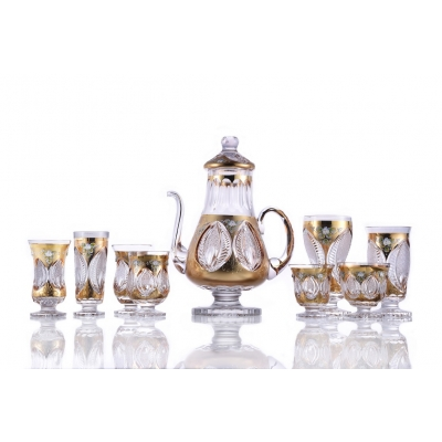 Gold Eye Ice Tea Set
